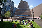 Der neue Tate Modern Annex, entworfen von Herzog und de Meuron, Southwark, London, SE1, England, Großbritannien, Europa