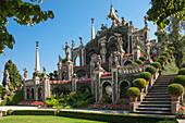 Floral Fountains, Isola Bella, Borromean Islands, Lake Maggiore, Piedmont, Italian Lakes, Italy, Europe