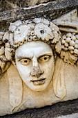 Sebasteion Figurehead. Aphrodisias. Ancient Greece. Asia Minor. Turkey