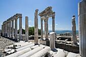Pergamon Trajaneum. Ancient Greece. Asia Minor. Turkey