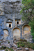 Rock Tombs of Termessos. The unexcavated Pisidian city. Ancient Greece. Asia Minor. Turkey