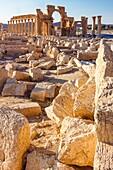 Monumental Arch of Palmyra ruins. Palmyra, Syria.