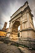 Roman Forum, Rome, Italy. The Arch of Titus.