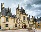The Jacques Coeur Palace in Bourges, Cher, Berry, France, Europe