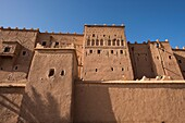 Morocco, Ouarzazate, kasbah Taourirt.
