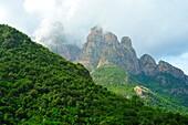Corsica Natural Regional Park, Corsica, France.