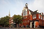 St. Mary's Church, Upper Street, Islington, London, Great Britain