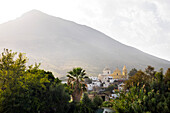 Stromboli town, Stromboli Island, Aeolian Islands, Lipari Islands, Tyrrhenian Sea, Mediterranean Sea, Italy, Europe