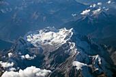 Zugspitze mountain, highest peak of Germany, Upper Bavaria, Germany, Europe