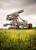 bucket-wheel excavator ''Big Wheel'' at Ferropolis - City of Iron, Dessau, Saxony-Anhalt, European Route of Industrial Culture