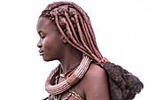 14 year old Himba girl, Kunene, Namibia