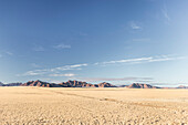 Extension hills of the Naukluft mountains near Sossusvlei in the Namib Desert, Hardap, Namibia, Africa.