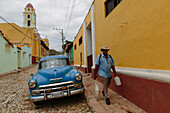 In the streets of Trinidad, Trinidad, Havana, Cuba