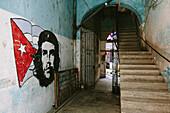 House entrance in La Havana Vieja, Havana, Cuba