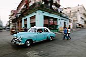 The Oldtimer in La Havana Vieja, Havana, Cuba