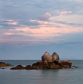Split Apple Rock, Abel Tasman National Park, Tasman, Tasman Bay, Südinsel, Neuseeland, Ozeanien