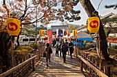 During Gishi-sai festival at Sengakuji temple, Takanawa, Minato-ku, Japan