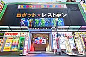Robot Restaurant in Kabukicho, Shinjuku, Tokyo, Japan
