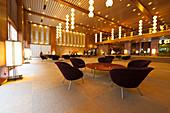 Lobby of former Hotel Okura, Minato-ku, Tokyo, Japan