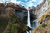 Nikko Kegon Falls from viewpoint platform in Nikko, Tochigi Prefecture, Japan