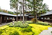 Inner yard of Nikko Tamozawa Imperial Villa, Nikko, Tochigi Prefecture, Japan