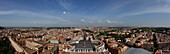 Panorama, Piazza San Pietro, Rom, Italien, Sommer, Aussicht, Vatikan, Platz