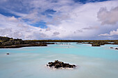Blue Lagoon, Bay, Lake, Thermal Outdoor Pool, Grindavík, Reykjanes, Iceland, Europe