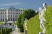 Belvedere Palace, Belvedere Garden, 3rd District Landstrasse, Vienna, Austria