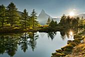 Grindjisee, Matterhorn, Zermatt, Valais, Switzerland