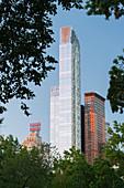 One57 Tower, Central Park, Manhattan, New York City, New York, USA
