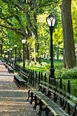 The Mall, Central Park, Manhattan, New York City, New York, USA