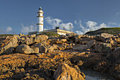 Faro Ses Salines, Mallorca, Balearic Islands, Spain