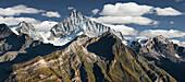 Weisshorn, Zermatt, Wallis, Schweiz