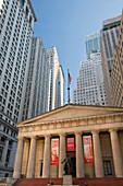 Federal Hall, Wall Street, Manhatten, New York City, USA