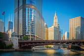 Chicago, a city in the U. S. state of Illinois, is the third most populous city in the United States and the most populous city in the American Midwest, with approximately 2. 7 million residents. Its metropolitan area (also called 'Chicagoland'), which ex