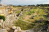 Hierapolis Basilica. Ancient Greece. Asia Minor. Turkey.