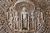 India, Rajasthan, Ranakpur, Jain temple.