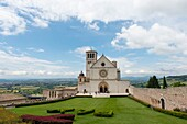The Papal Basilica of St. Francis of Assisi is the mother church of the Roman Catholic Order of Friars Minor (commonly known as the Franciscan Order) in Assisi, Italy.