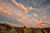 Mount Whitney, Alabama Hills, Eastern Sierra Nevada, Lone Pine, California, USA, North America