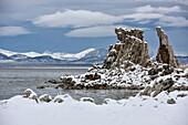 Mono Lake Tufa State Natural Reserve , Eastern Sierra Nevada, Lone Pine, California, USA, North America