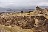 Zabriskie Point, Death Valley National Park, California, USA, North America
