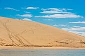 'Dune at Bazaruto Island, the largest island in the Bazaruto Archipelago; Mozambique'