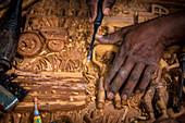 'Makonde Art; Maputo, Mozambique'