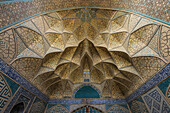 'Murqanas of a chamber located in the Northeast of the Masjed-e Jame (Friday Mosque); Esfahan, Iran'