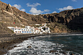 Alojera, cliffs, La Gomera, Canary Islands, Spain