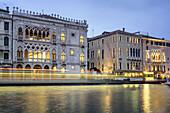 Canal Grande, Palazzo Ca d Oro , Ca Sagredo Hotel , Venedig, Venezia, Venice, Italia, Europe
