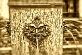 Fountain , Venezia, Venice, Venedig, Italia, Europe