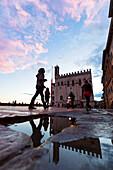 Europe, Italy, Umbria, Perugia district, Gubbio, Big square