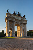 Milan , Lombardy, Italy Arch of Peace
