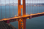 USA, West Coast, California, San Francisco, Golden Gate, Bridge